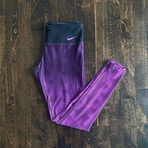 Nike Ombre Striped Leggings
